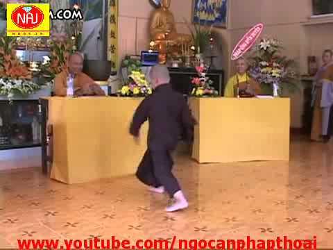 Chu tieu Thich Chan Tam  Mua Võ Thiếu Lâm Tự