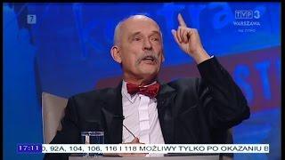 Młodzież kontra 578: Janusz Korwin-Mikke (Wolność) 27.11.2016