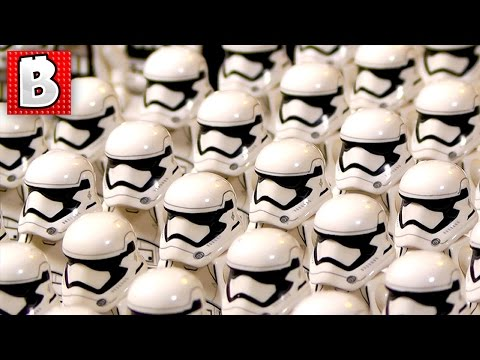 Lego First Order Storm Trooper Army  | Unboxing 38 Battle Packs!