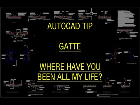 AutoCAD Tip - GATTE where have you been all my life?