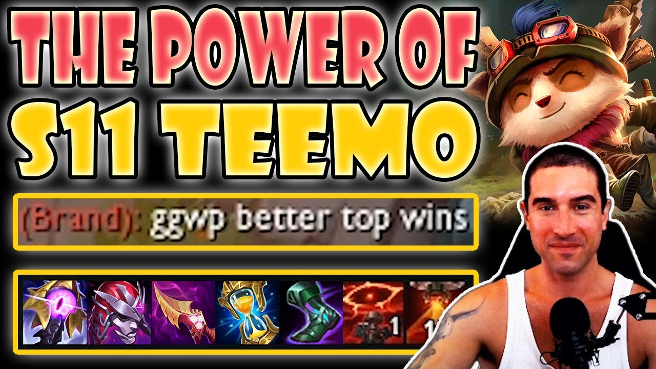 Download The POWER of Season 11 Teemo! Easy escapes [Teemo vs Camille] S11 Commentary