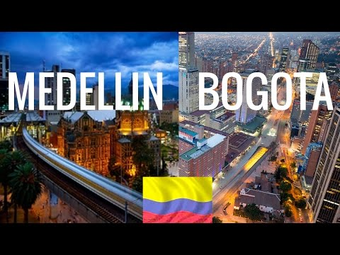 Bogota vs Medellin - Living & Investing in Colombia.
