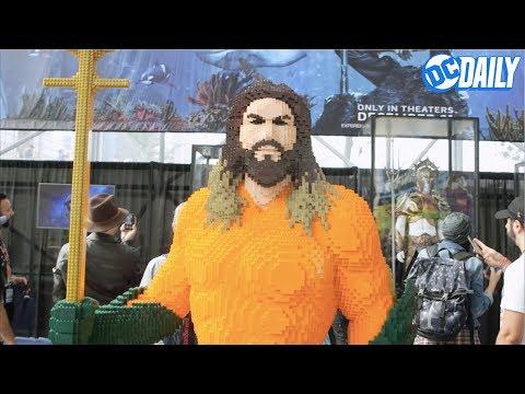 DC Daily Ep.16: Exclusive TITANS clip, AQUAMAN costumes, DC LEGO SUPER-VILLAINS, and more!