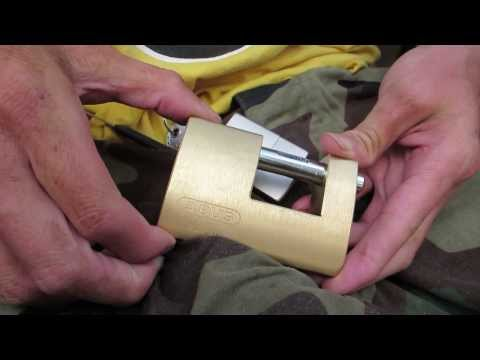 Abus Diskus Padlock and Hasp and Staple LocksOnline Product Reviews from YouTube · Duration:  4 minutes