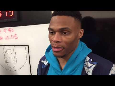 Thunder vs Pistons - Russell Westbrook