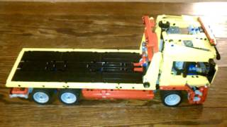 Lego Technic Flatbed Truck Power Functions