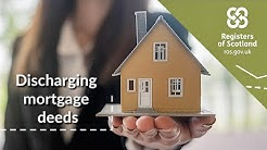 Simple guides | How to discharge a mortgage deed from the land registers