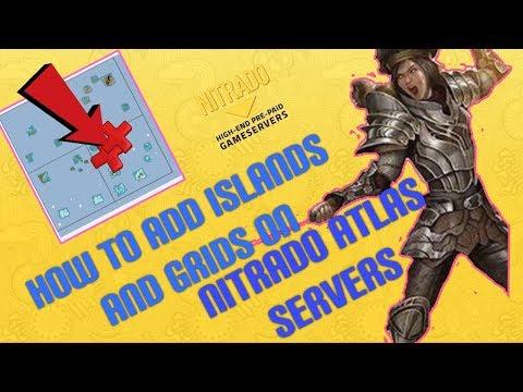 Adding Islands & Grids to Atlas Nitrado Servers