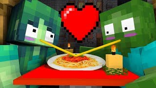 Monster School : COOKING IN THE RESTAURANT CHALLENGE - Minecraft Animation
