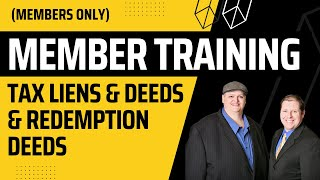 TAX SALE WORKSHOP: TAX LIENS, TAX DEEDS, LIVE & ONLINE AUCTIONS