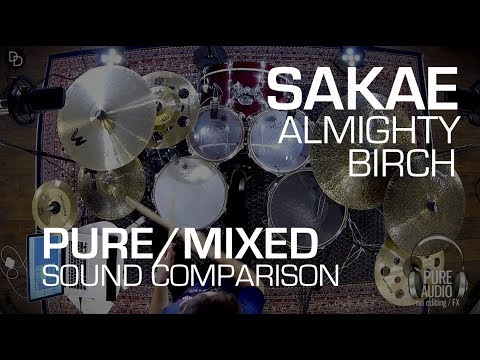 Yamaha Recording Custom alternative: Sakae Almighty Birch drums (pure/mixed sound demo)