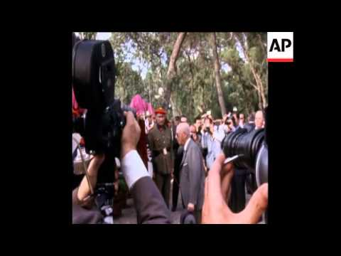 SYND 25-6-72 GENERAL FRANCO VISITS SPAIN'S NEW ZOO