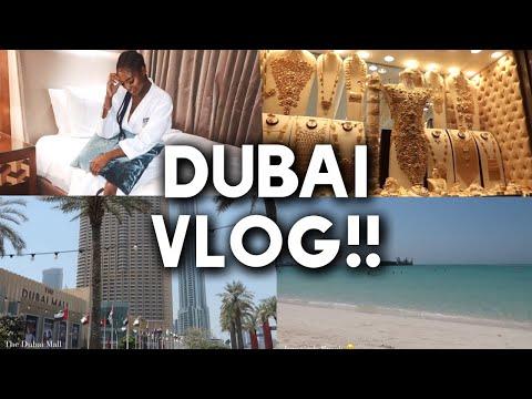 Dubai Vlog 2019 | Dubai Mall | Aquarium | Burj Khalifa | Jumeirah Beach | Gold Souk |Naomi Christina