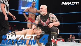 Eli Drake & Scott Steiner vs Z&E: Tag Team Championship: Match in 4 | IMPACT! Highlights May 17 2018