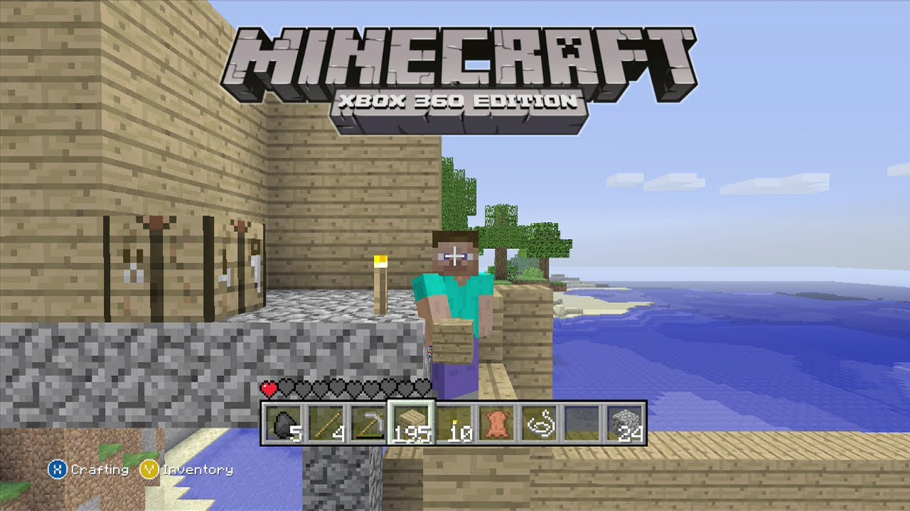 Minecraft Xbox How To Play With The First Update Tu How - Minecraft online spielen xbox 360