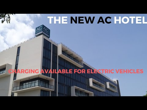THE NEW AC HOTEL|||NEW KINGSTON|||ELECTRIC VEHICLE CHARGING-Marriott Hotels