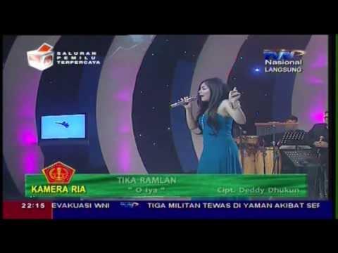 TIKA RAMLAN [O Ya] Live At Kamera Ria (04-03-2014) Courtesy TVRI
