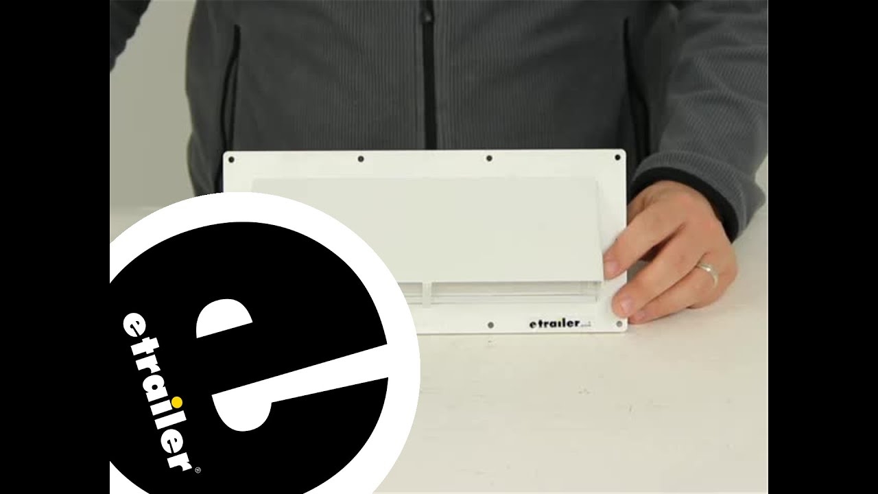 Review Of Ventline Enclosed Trailer Parts V2111 03   Etrailer.com   YouTube