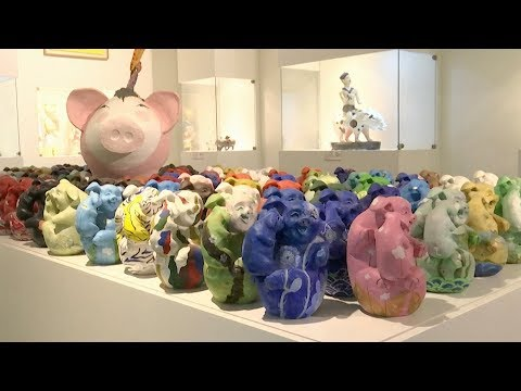 Pig museum popular in South Korea as Year of Pig draws near