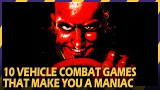 MOTORIZED MANIACS l Top 10 Best Vehicular Combat Games