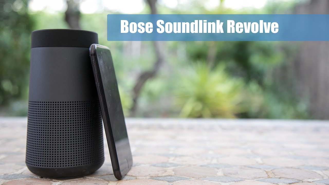 Análisis altavoz Bose SoundLink Revolve