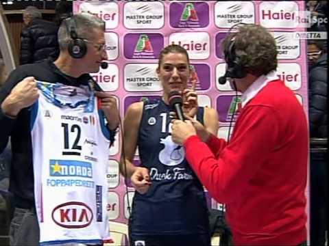 foppapedretti bergamo-torino 2012/2013 francesca piccinini interview