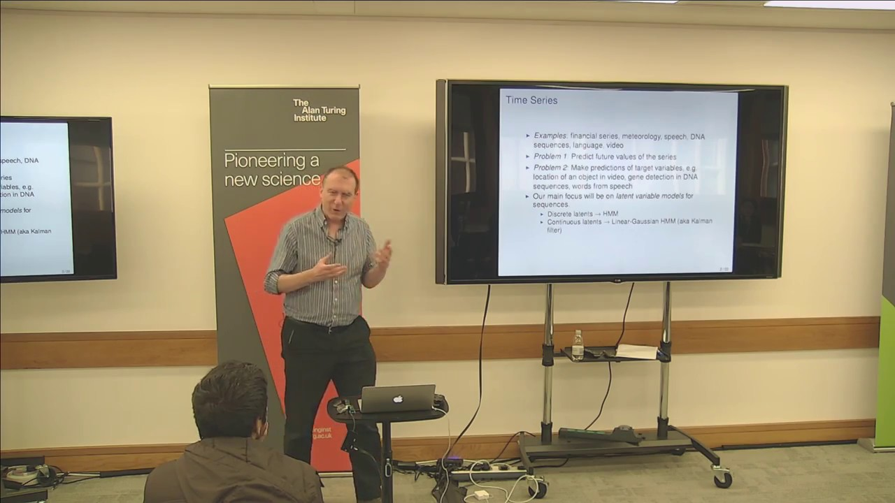 Time Series Modelling and State Space Models: Professor Chris Williams,  University of Edinburgh