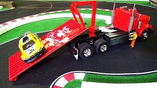RC ADVENTURES - RED KiNG HAULER [w/ 3D Printed HOOK LiFT] Truck LiFTS for the 1st TiME!