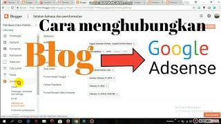 Tutorial cara mudah menghubungkan Blog ke google adsense