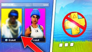 "HOW TO HAVE THE SKINS ""PSN"" FOR FREE WITHOUT THE 'PS' on Fortnite: Battle Royale! 😱🏆🔝"