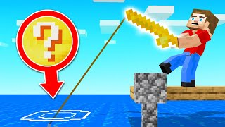 We Made LUCKY BLOCK FISHING RODS! (Minecraft)