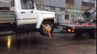 Эвакуатор Шмель - перевозка автомобиля с частичной погрузкой