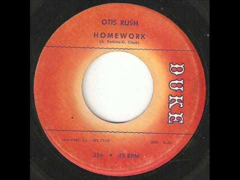 song research otis rush