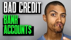 Bad Credit Bank Accounts || Second Chance Bank Accounts || Credit Repair Help|| Credit Improvement