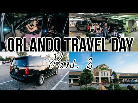 Travelling to Orlando Florida Vlog Part 2: Picking up our hire car & Arriving At The Villa!