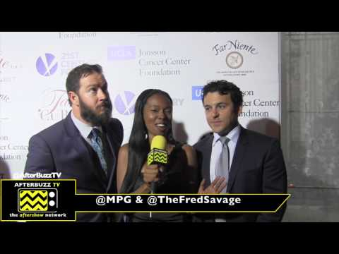 Mark-Paul Gosselaar and Fred Savage at the Taste For A Cure event