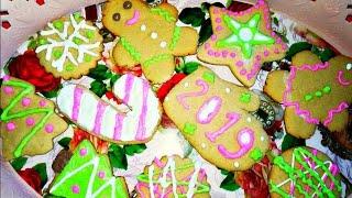 Рецепт новогоднего печенья 🌲Пряники на Новый год 2019