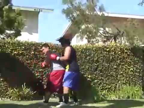 Huge Knockout (American Samoa vs Mexico)