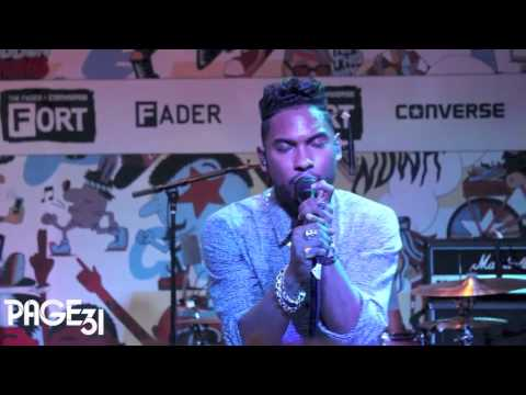 Miguel Performs Pussy Is Mine, The Thrill & Adorn at The Fader