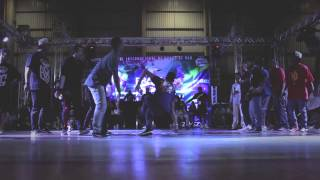 ABC vs Black Spin | Chelles Battle Pro Brasil 2015