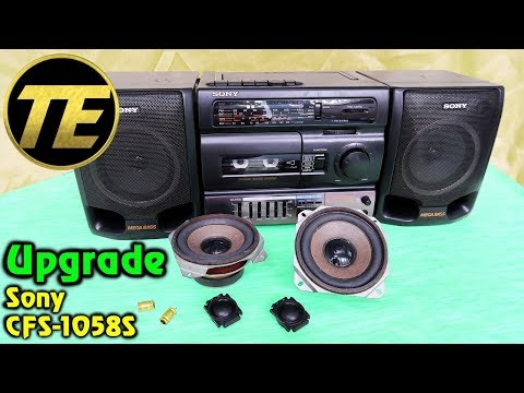 Upgrade Sony CFS-1058S