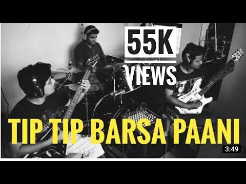Tip Tip Barsa Paani Paani - Mohra (Instrumental) (Guitar) (Drums) By GUITARLINE #CRASHTALK
