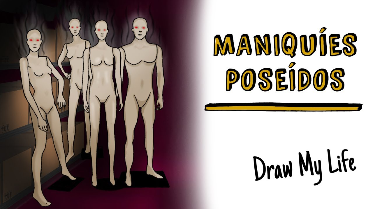 Maniquíes poseídos 👤 Draw My Life Terror