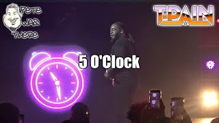 T-Pain - 5 O'Clock (Aztec Theatre, San Antonio, TX 03/16/2019) HD
