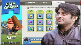 🔴Clan Game Rewards Collection Day | COC LIVE