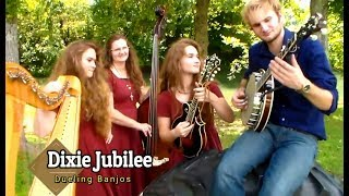 Dueling HARP.... Mandolin... AND Banjo!!! By Dixie Jubilee