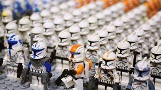 My LEGO Star Wars The Clone Wars Army Collection | Моя Коллекция Минифигурок | 10 ЛЕТ ВОЙНЕ КЛОНОВ