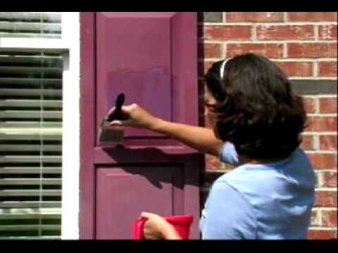 Restore faded vinyl shutters with vinyl shutter for Paint vinyl shutters