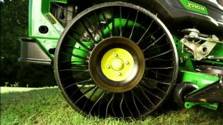 "The new MICHELIN® X® TWEEL® TURF™ exclusively on John Deere ZTrak™ 900 Series Mowers(The next ""revolution"" in commercial mowing has arrived. The MICHELIN X TWEEL TURF has all the qualities you would want in a pneumatic tire but it never ..., 2014-10-22T18:37:51.000Z)"