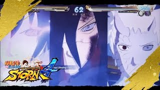 Naruto Ninja Storm 4™DEMO FULL E3 EVENTO, PS4 and XBOXone / Gameplay Naruto, Sasuke, Obito, Madara